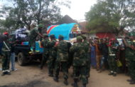 Bunia: derniers hommages au Colonel Angole Bovick avant son inhumation