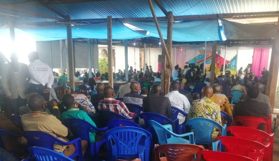 Irumu: environ 700 participants prennent part à la table ronde de Komanda